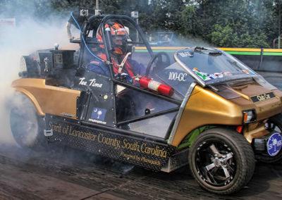 World's Fastest Golf Cart 110.14 mph