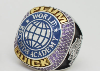 world record academy ring