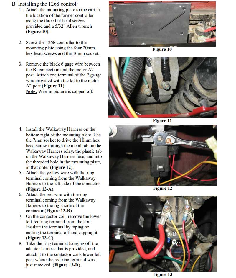 Yamaha Electric Golf Cart Wiring